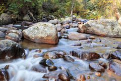 secuencia de la montaña rocosa Foto de archivo libre de regalías
