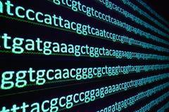 Secuencia del gen Imagenes de archivo