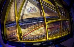 Secuencia dentro del piano imagen de archivo