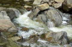 Secuencia en la base de Yosemite Falls Foto de archivo