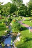 Secuencia en un parque hermoso Imagen de archivo