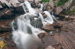 Secuencia espumosa de la montaña Imagen de archivo libre de regalías