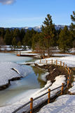 Secuencia hivernal Fotos de archivo