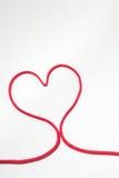 Secuencia roja del corazón Fotos de archivo libres de regalías