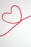 Secuencia roja del corazón Fotografía de archivo libre de regalías