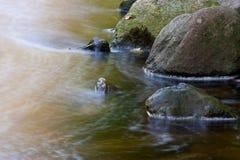 Secuencia y rocas Fotografía de archivo