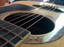 Secuencias de la guitarra Imágenes de archivo libres de regalías