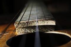 Secuencias de la guitarra Imagen de archivo