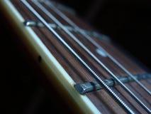 Secuencias de la guitarra fotografía de archivo libre de regalías