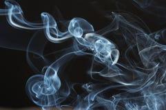 Secuencias de un humo Imagen de archivo libre de regalías