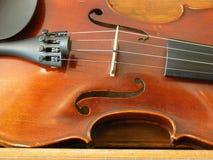 Secuencias del violín Imagen de archivo libre de regalías