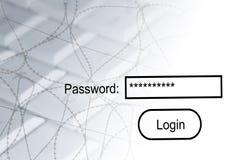 secuity Διαδικτύου απεικόνιση αποθεμάτων
