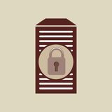 secuity system icon Royalty Free Stock Photo