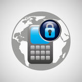 secuity system icon Stock Photography
