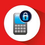 secuity system icon Stock Images