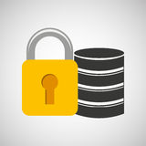 secuity system icon Royalty Free Stock Images