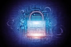 Secure Advanced System Stock Images