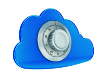 Secure cloud computing royalty free stock images