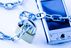 Secure computer Royalty Free Stock Image