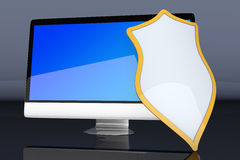 Secure Computer system Royalty Free Stock Images