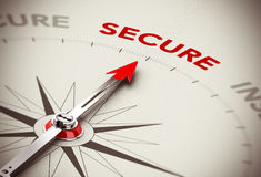 Secure Concept - Security Royalty Free Stock Image
