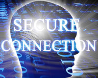 Secure connection Stock Photography