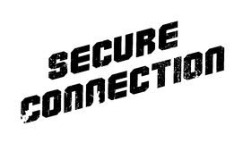 Secure Connection rubber stamp Royalty Free Stock Photo