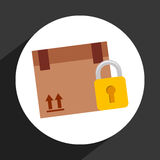 Secure delivery Stock Photography