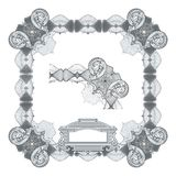 Secure design frame Royalty Free Stock Photo