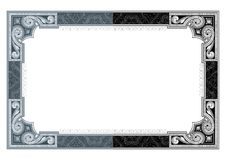 Secure design frame vector #2 Royalty Free Stock Photography