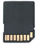 Secure digital SD card Stock Photography