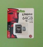 Secure Digital SD pamięci karta Fotografia Royalty Free