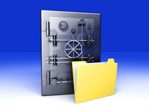 Secure Directory Stock Photography
