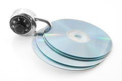 Secure discs Stock Photography