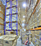 Secure document storage facility, record storage archives. Royalty Free Stock Photos