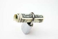 Secure dollar Stock Photography