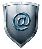 Secure e-mail Royalty Free Stock Photo
