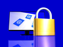 Secure Email Royalty Free Stock Photo