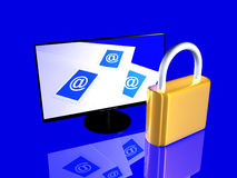 Secure Email Royalty Free Stock Image