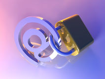 Secure Email Royalty Free Stock Photography