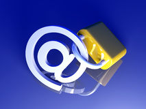 Secure Email Stock Image