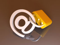 Secure Email Royalty Free Stock Photos
