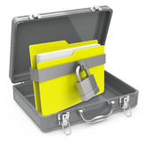 The secure folder Royalty Free Stock Photo