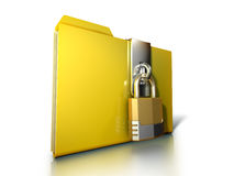 Secure folder Royalty Free Stock Image