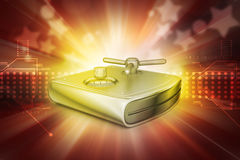 Secure Hard drive Royalty Free Stock Images