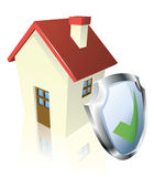 Secure house concept Royalty Free Stock Photo