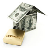 Secure house Royalty Free Stock Photo