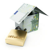 Secure house Royalty Free Stock Photography