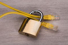 Secure internet connection Royalty Free Stock Photos