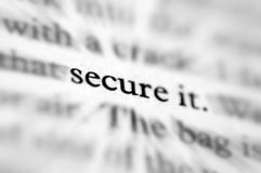 Free Secure It Stock Image - 1107031